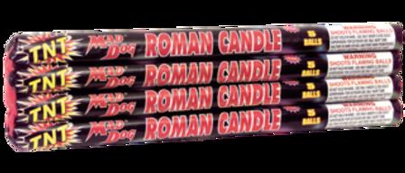 5 Ball Mad Dog Roman Candle