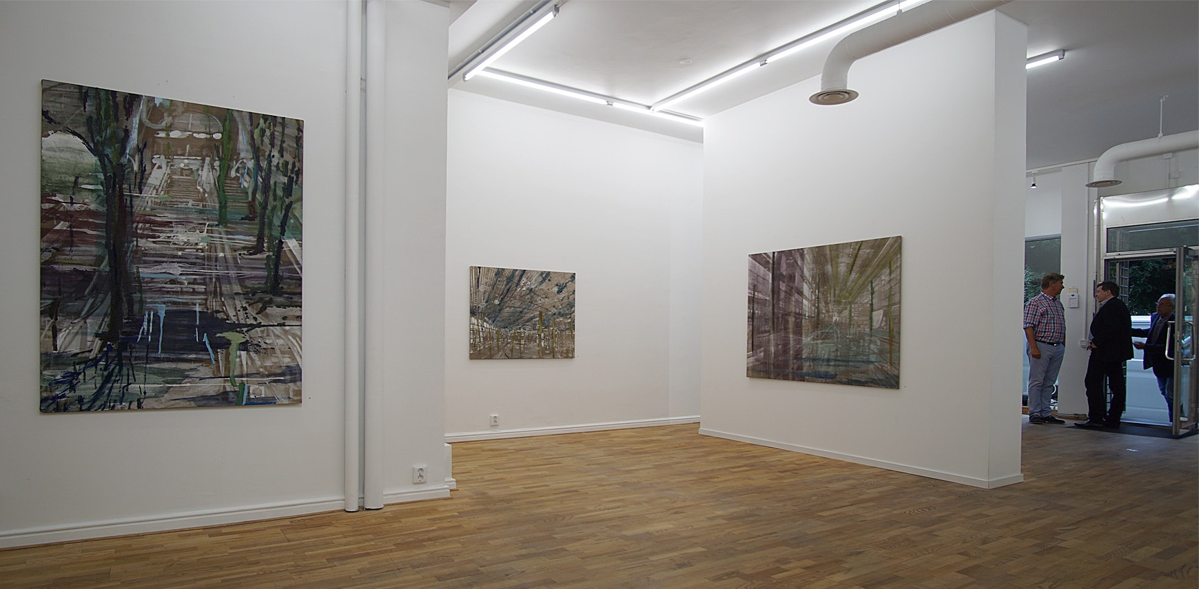 Installationshot Galerie Leger 2017