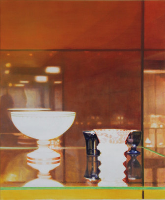 Anette Harboe Flensburg, Glass I, 90x75 cm, 2019
