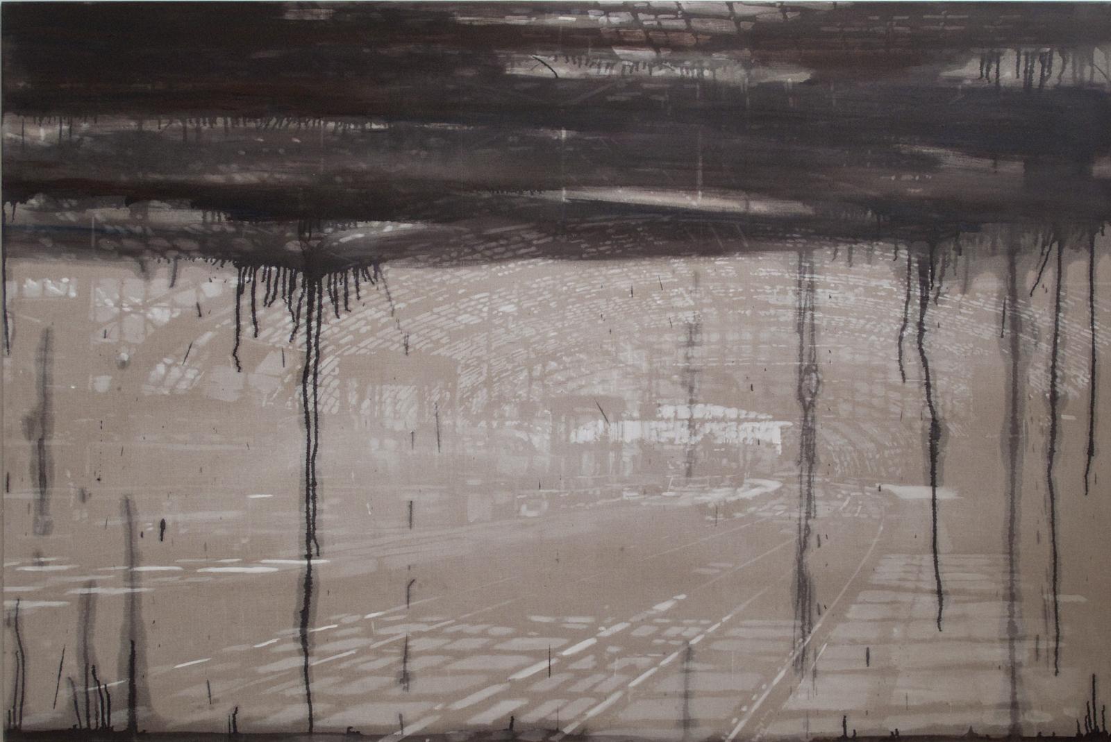 Tungt / Heavy, 160 x 240 cm 2009