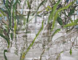 Frodig overtagelse, 60 x 80 cm, 2019