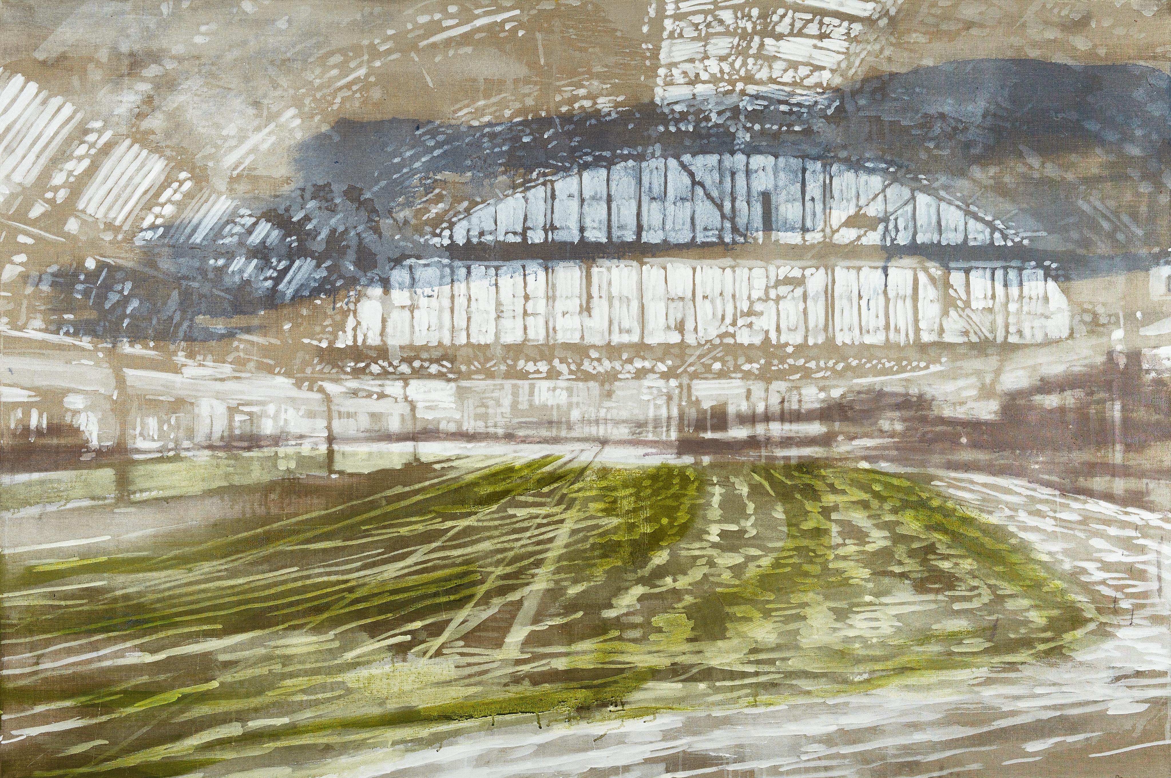 Dampende dvælen, 120 x 180 cm, 16