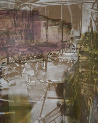 Karen Gabel Madsen, The possible Room I, 200 x 160 cm, 2020