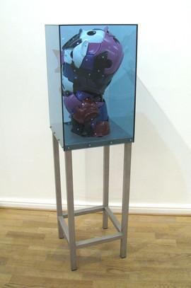 Bjørn Poulsen, Blue Ghost, 134 x 36 x 36 cm, 2019