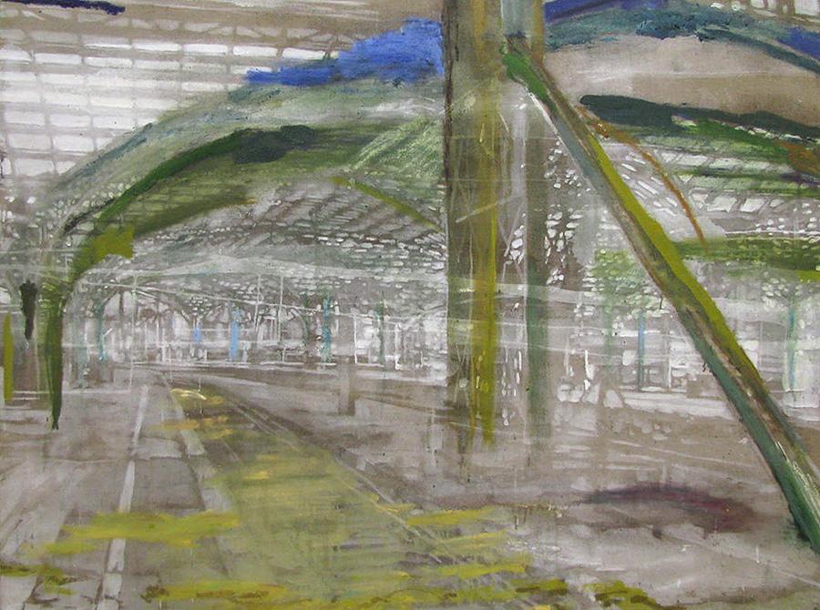 Lysning i landskabet,120 x 160 cm,17