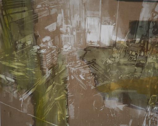 Karen Gabel Madsen, The possible Room II, 160 x 200 cm, 2020