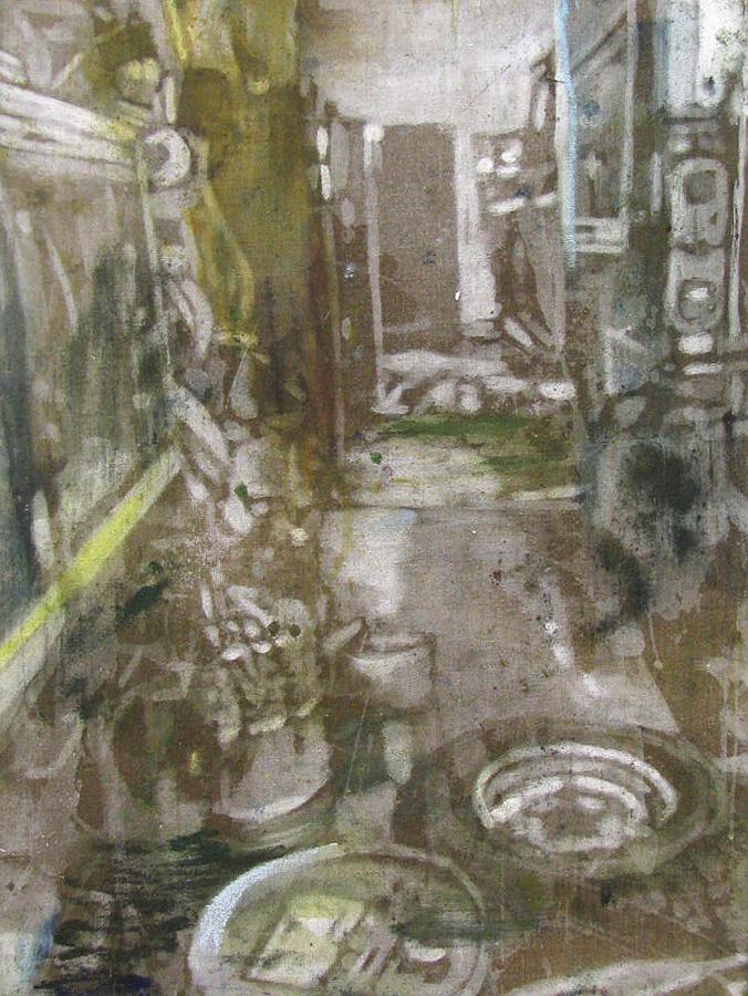 Naser på arbejde III, 80 x 60 cm, 17