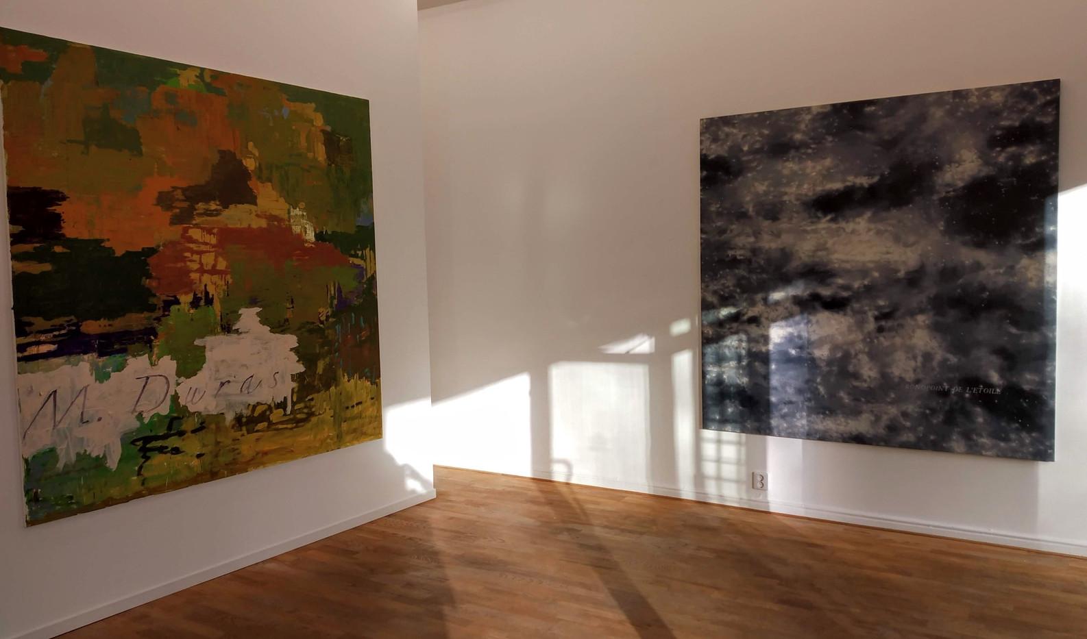 Paintings by Kehnet Nielsen and Ola Billgren