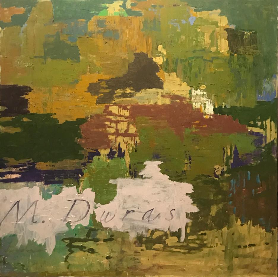Kehnet Nielsen, 200 x 200 cm, (M Duras).