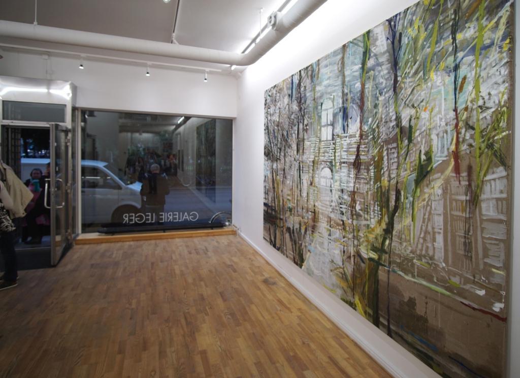 Installationsshot Galerie Leger 2017