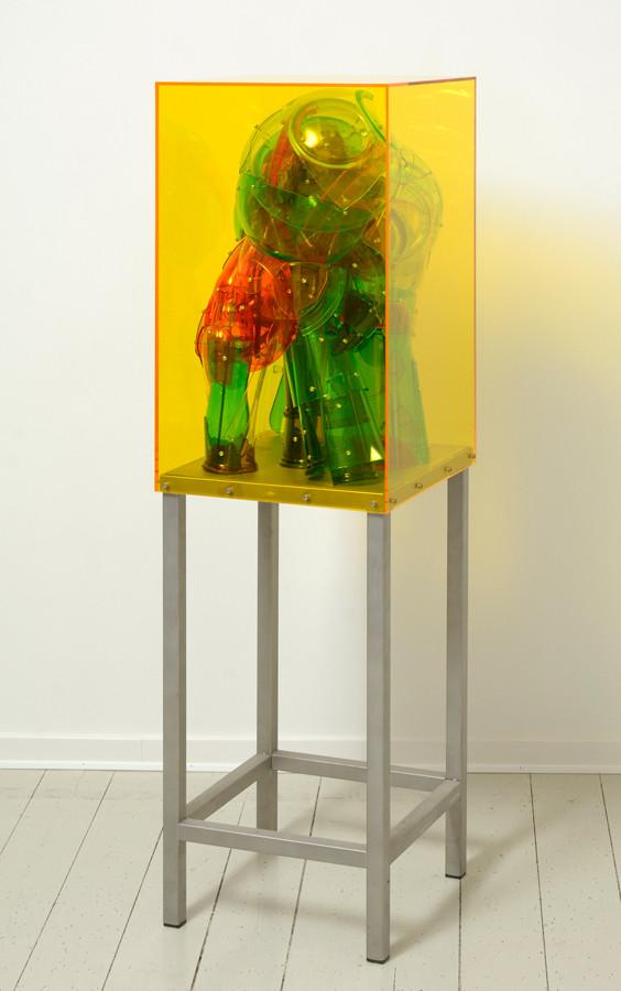 Bjørn Poulsen, Yellow Ghost, 148 x 41 x 41 cm, 2019