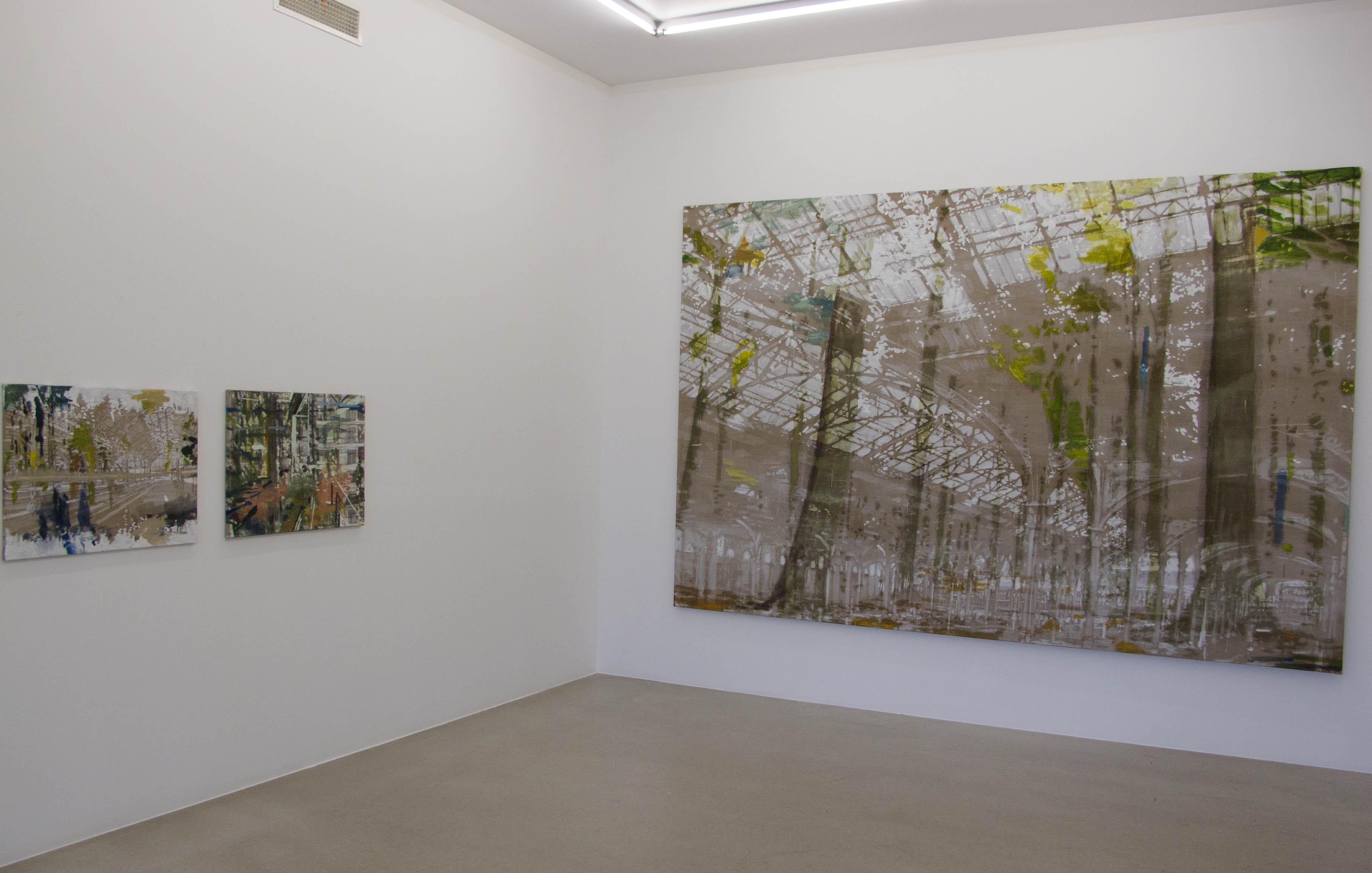 Installation Galerie Leger 16