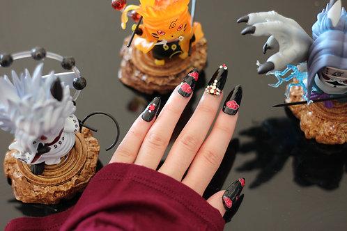 Akatsuki Cloud Nails