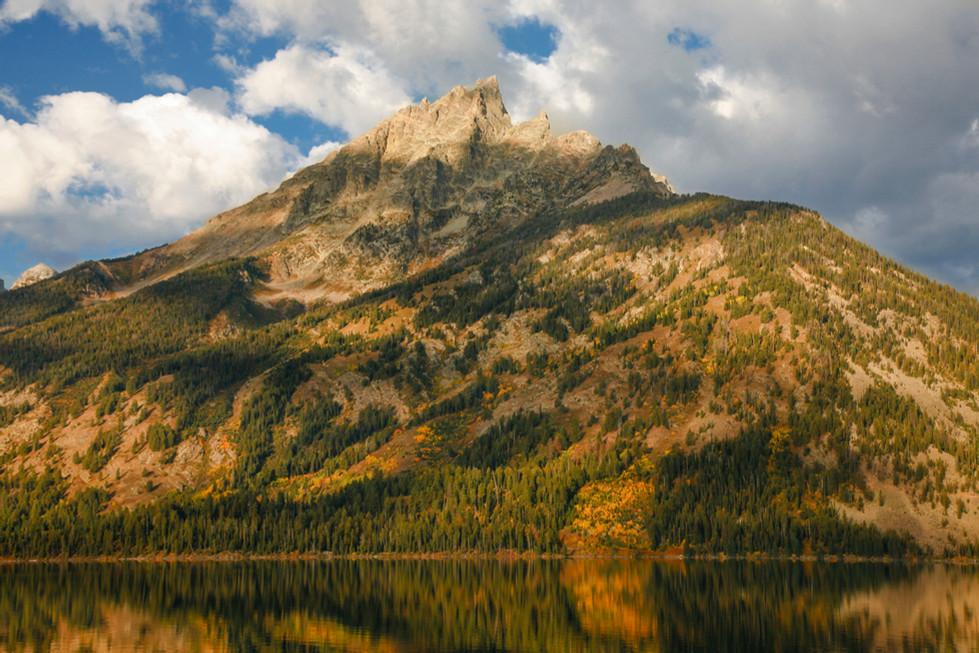 The Tetons over Jackson Lake, Wyoming
