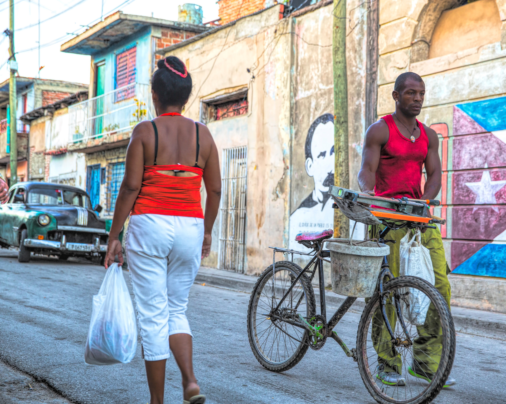Streets of Baracoa, Cuba