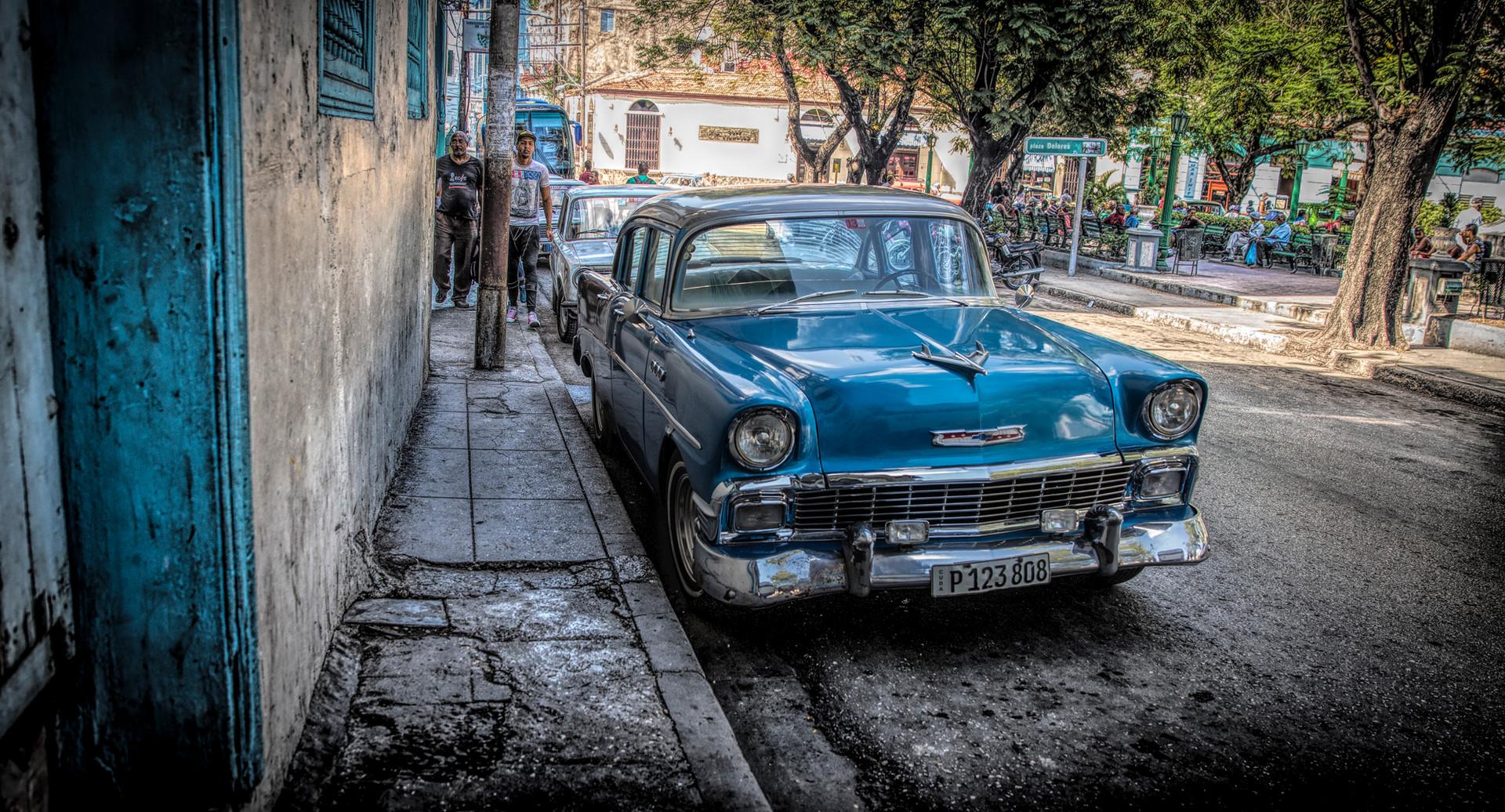 1956 Chevy in Havana
