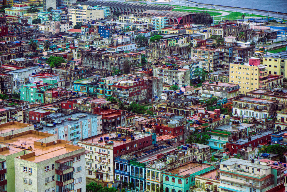 Old Havana on the Malecon