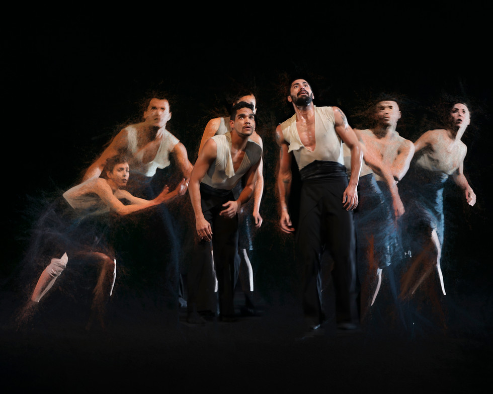 Cuban dance group at the Dorothy Chandler, Los Angeles