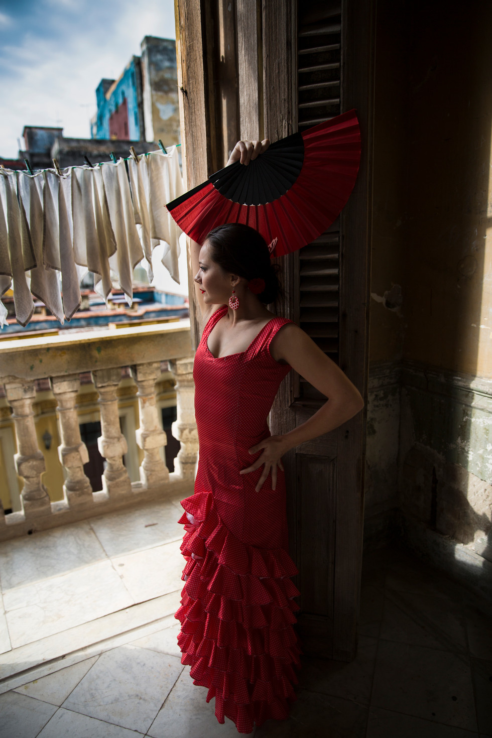 Flamenco dancer, Cuba
