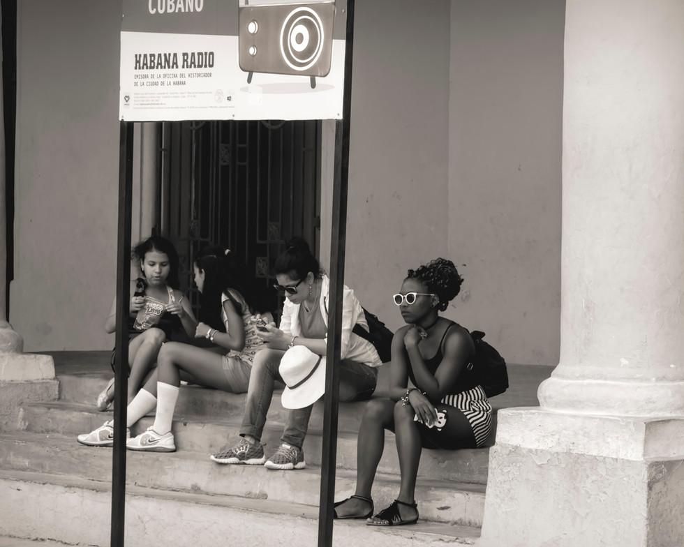 Relaxing in Havana