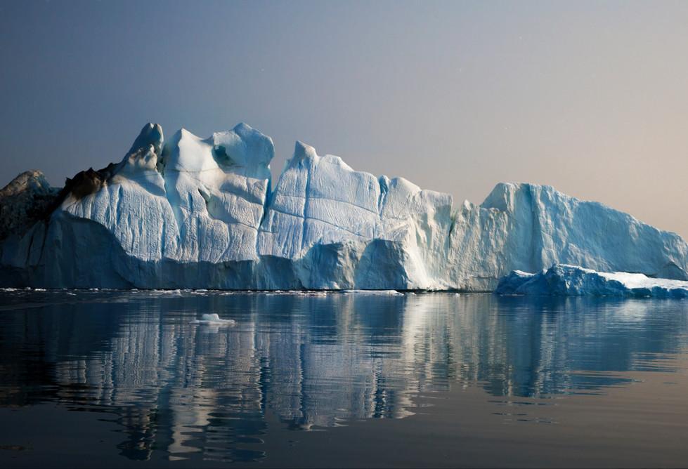 Icebergs off Illulisat, Greenland