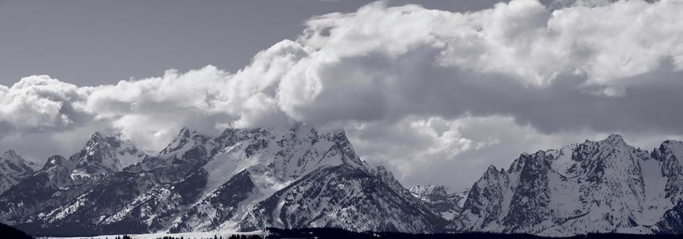 Wilson, Wyoming in Winter