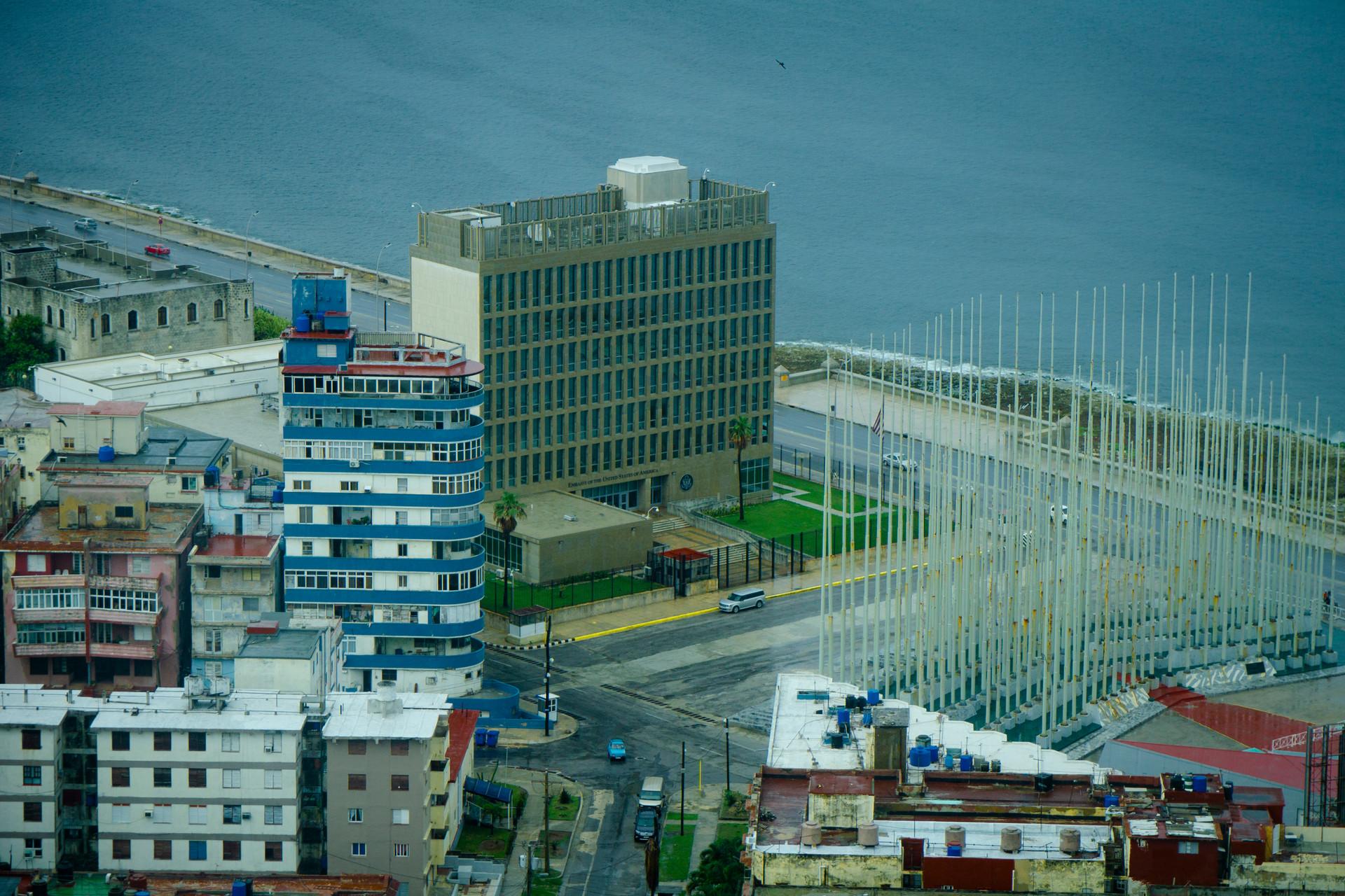 The American Embassy, Havana
