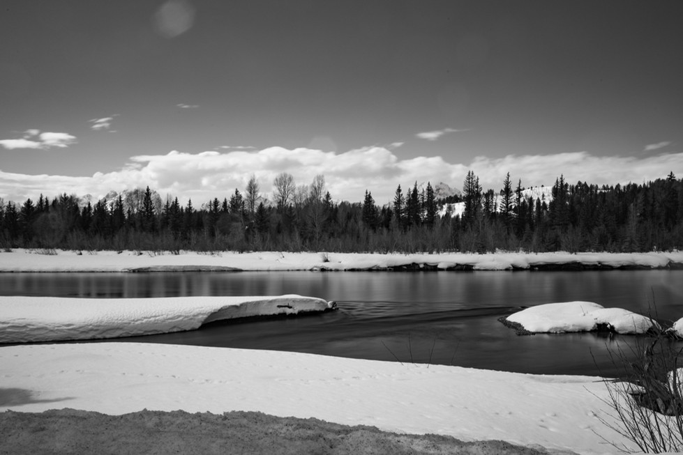 The Tetons in Winter