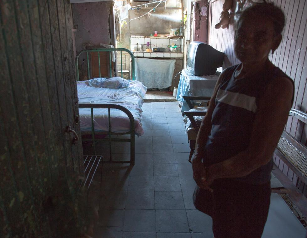 Woman in her home, Baracoa Cuba