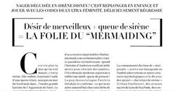 Article Madame Le Figaro