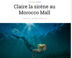 Une sirène au Maroc !