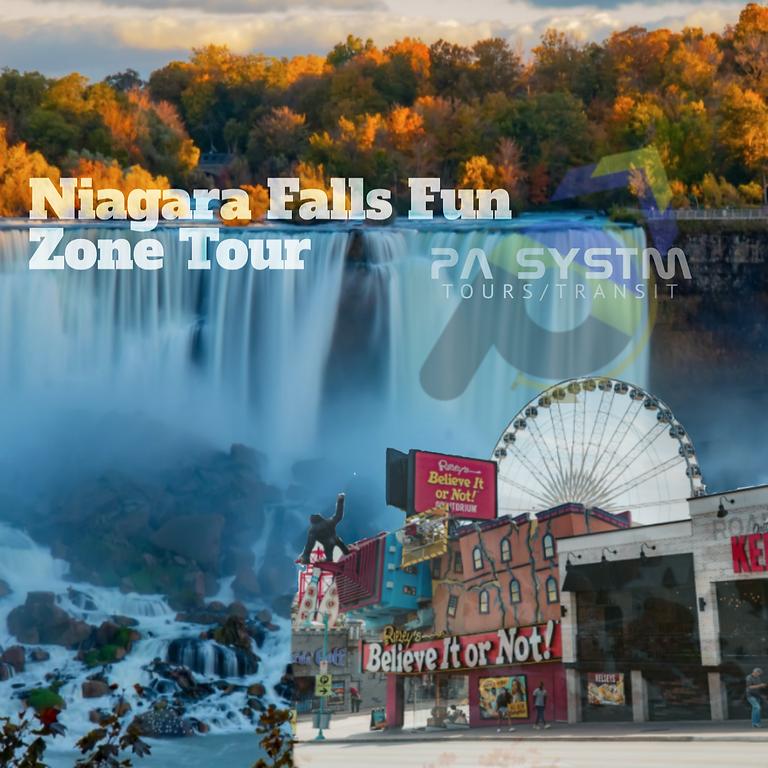 Niagara Falls Fun Zone Tour