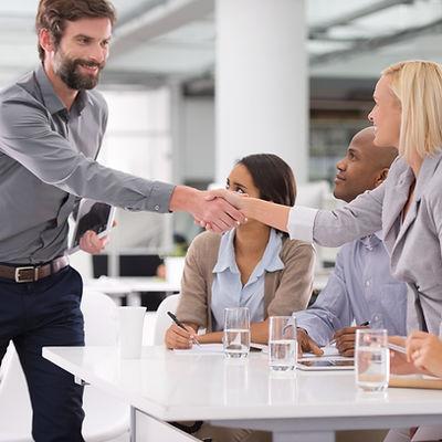 Treffen mit dem Personal