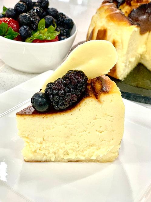 Japanese Yuzu Burnt Cheesecake