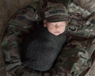Warren {18 Days New} - Kinley Rose Photography, Clarksville, TN Newborn Photography
