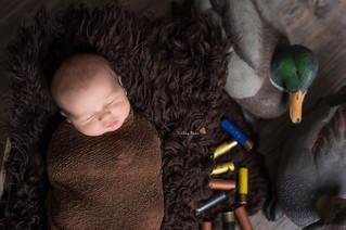 Carson { 7 Days New } - Kinley Rose Photography, Clarksville, TN Newborn Photographer