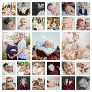 2017 Year in Review - Kinley Rose Photography, Clarksville, TN Newborn & Family Photographer
