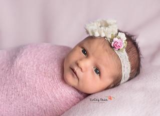 Layla {17 Days New} - Kinley Rose Photography, Clarksville, TN Newborn Photographer