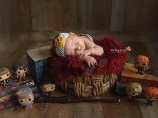 Stevie {12 Days New} - Kinley Rose Photography, Ludowici, GA Newborn Photographer