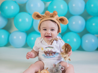 Happy Birthday Noah!! - Kinley Rose Photography, Clarksville, TN Newborn Photographer