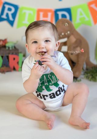 Happy Birthday Brady! - Kinley Rose Photography, Clarksville, TN Newborn Photographer