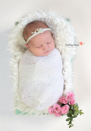 Eleanor {9 Days New} - Kinley Rose Photography, Clarksville, TN Newborn Photographer