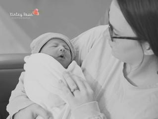 Bryson's Fresh 48 - Kinley Rose Photography, Clarksville, TN Newborn Photographer
