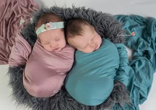 Brynlee & Nolan {17 Days New} - Kinley Rose Photography, Clarksville, TN Newborn Photographer