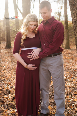 Heather and Harrison's Maternity - Kinley Rose Photography, Clarksville, TN Newborn Photographer