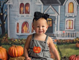 Addie's Haunted House Mini - Kinley Rose Photography, Ludowici, GA Newborn Photographer