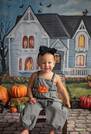 Addie's Haunted House Mini - Kinley Rose Photography, Ludowici, GA Newborn Photographer