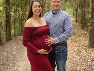 Alyssa + Jake - Kinley Rose Photography, Ludowici, GA Newborn Photographer