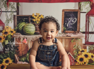Happy 4th of July!! - Landon's 4th of July Mini Session - Kinley Rose Photography, Ludowici, GA