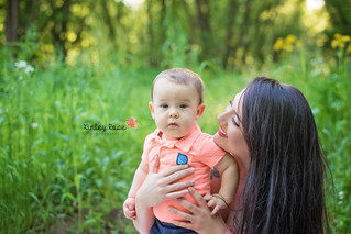 Rebecca & Wesley - Kinley Rose Photography, Clarksville, TN Newborn Photographer